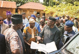 For the eyes and ears of Governor Fayemi