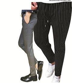 How men rock pencil trousers