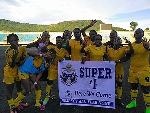 NWPL Super 4 holds in Lagos