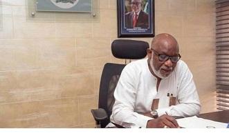 Akeredolu commissions CCU building, lays UNIMEDTHC foundation