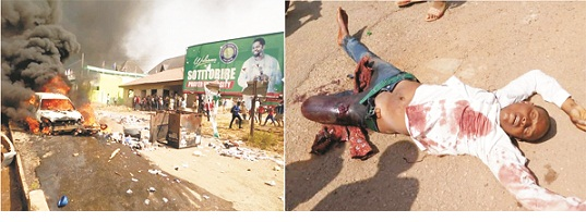 Day of fury and rage in Akure