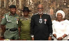 Akeredolu promises improved welfare for families of fallen heroes