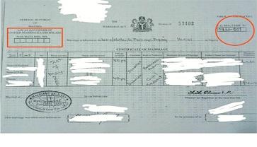 Man, 55, jailed for forging Registry's stamp
