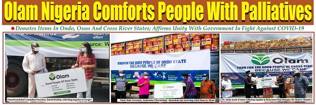 Olam Nigeria Comforts People With Palliatives