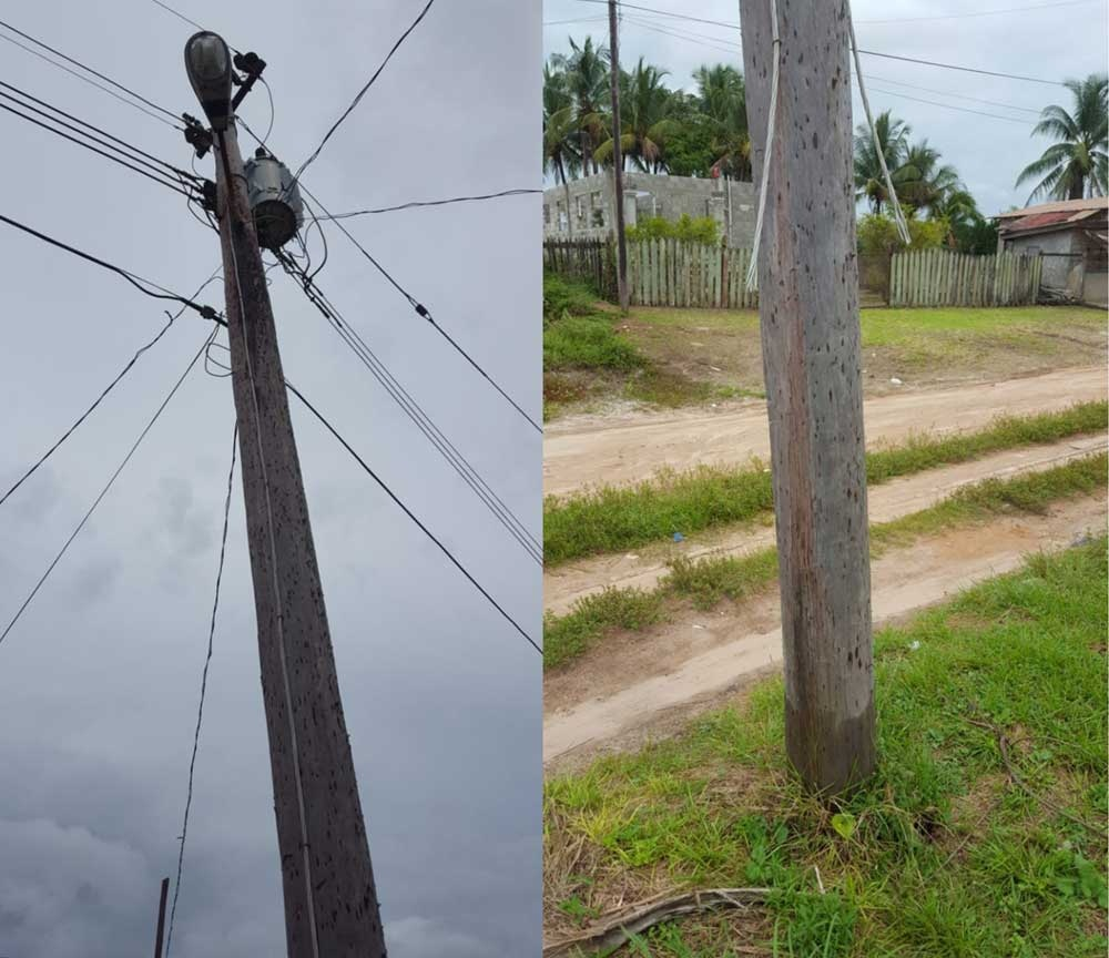 Monarch laments vandalisation of electric cables