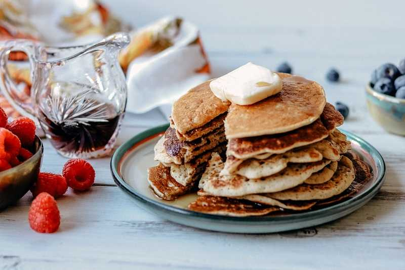 Pair these soul warming pancakes with coffee at brunch