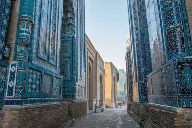 Samarkand: A Blue colored jewel at the Crossroads of the Silk Road