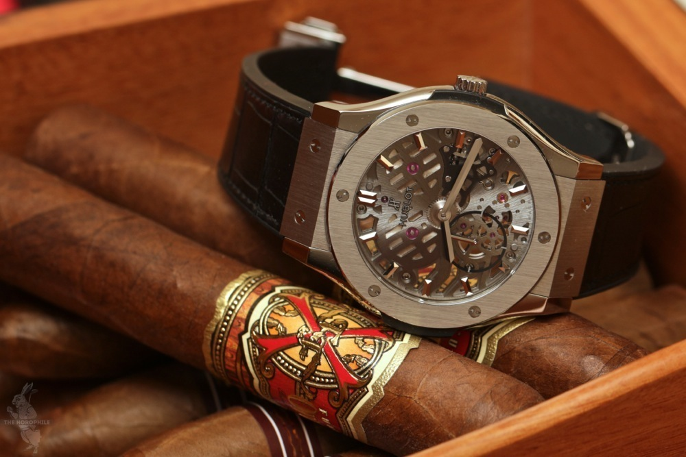 Hublot Fuente Opus X cigars