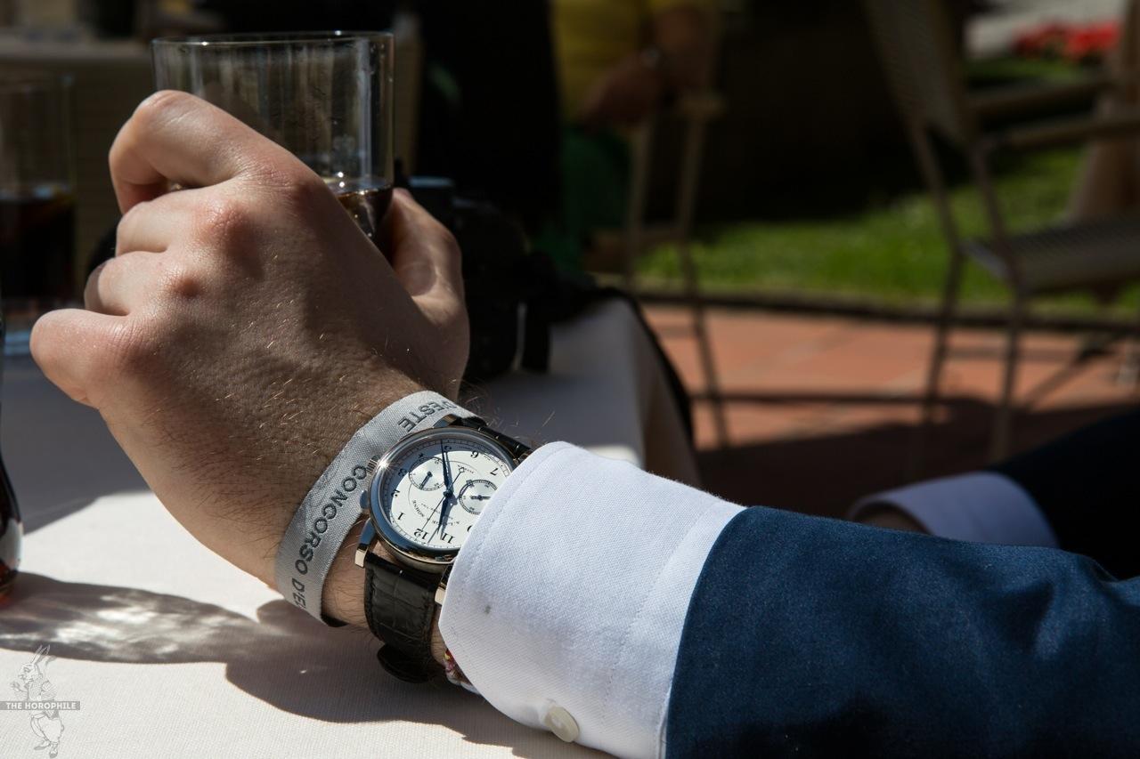 A. Lange & Söhne 1815 Chronograph Concorso d'Eleganza Villa d'Este 2014 11