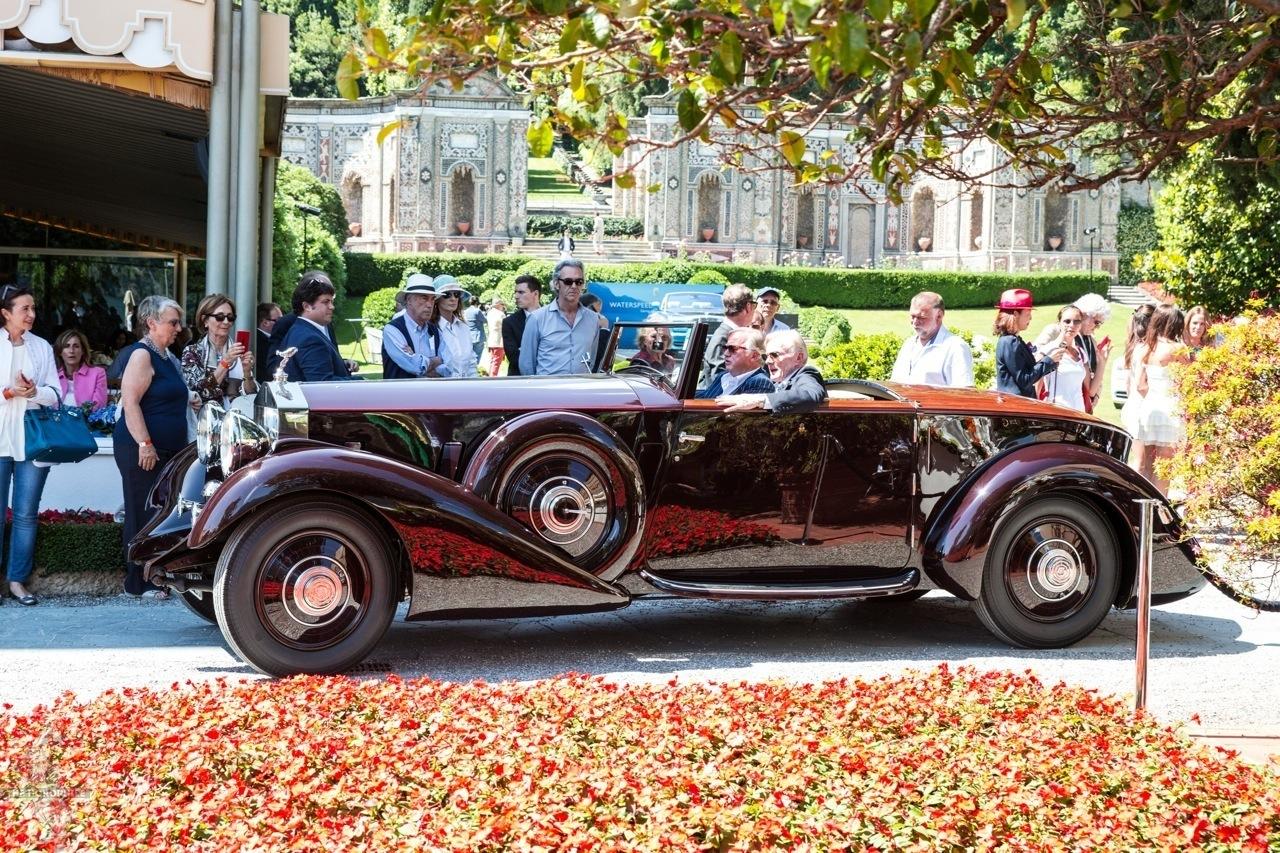 Rolls Royce Phantom II Concorso d'Eleganza Villa d'Este 2014 18