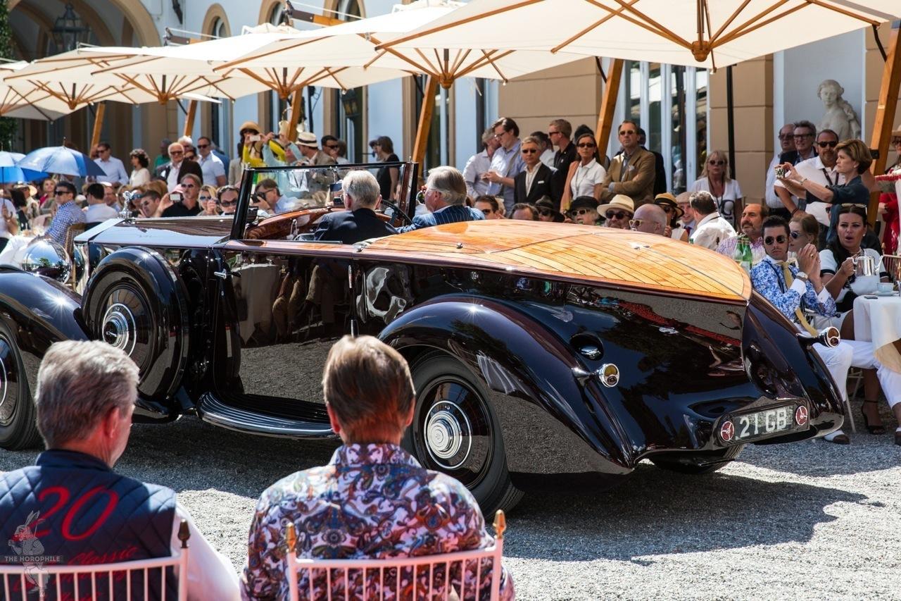 Rolls Royce Phantom II Concorso d'Eleganza Villa d'Este 2014 19