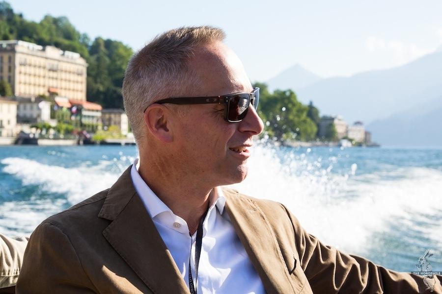 A. Lange & Söhne CEO Wilhelm Schmid Ville d'Este Concorso d'Eleganza 2014 1