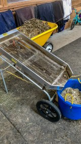 Waste cleaning