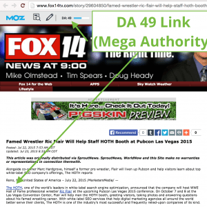 FOX Press Release Example