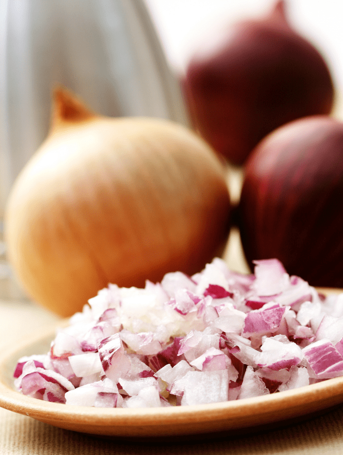 What to do when your hands smell like onions.