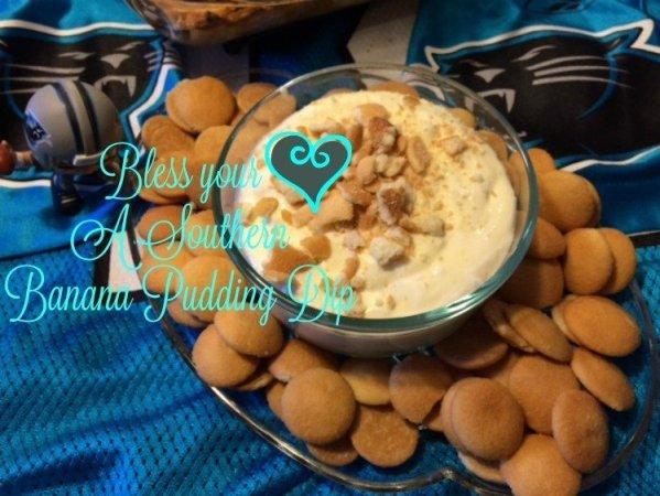 super bowl - Southern-Banana-Pudding-Dip-adventuresoffrugalmom.com