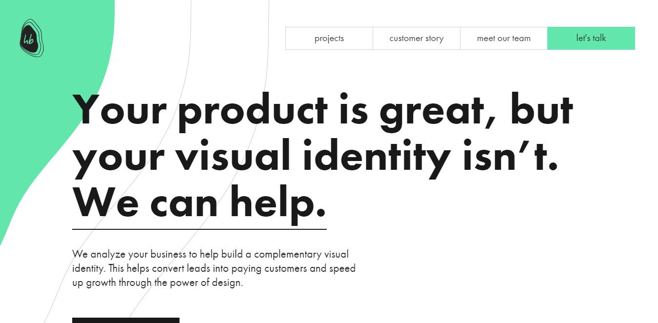 simple web design ideas