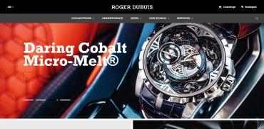 Watches Web Design Inspiration