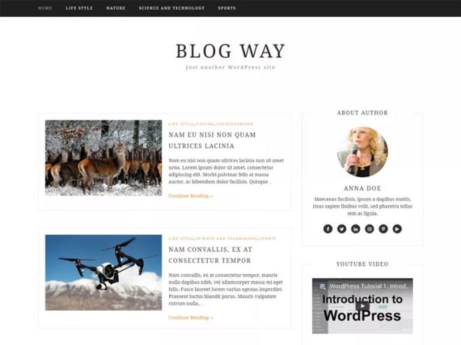 mommy blog wordpress themes