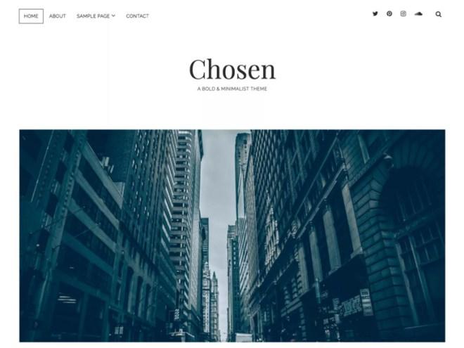 free wordpress modern blog themes