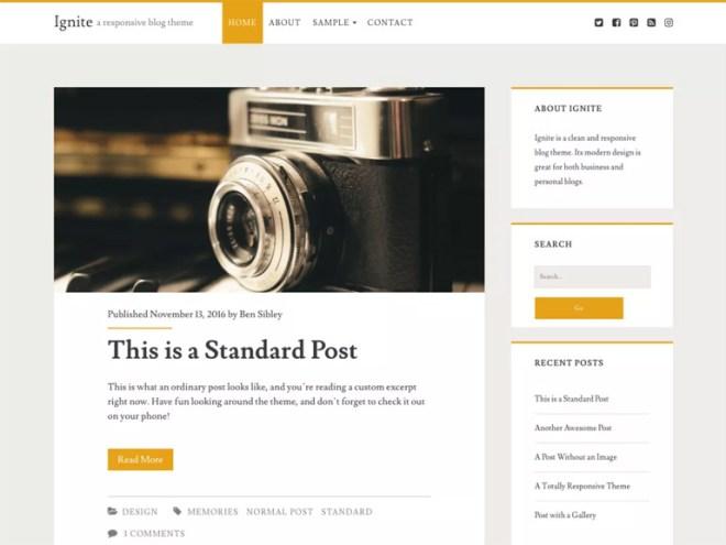 great free wordpress blog themes