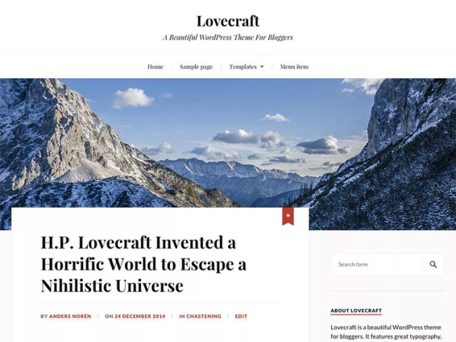 responsive wordpress blog themes