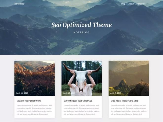 modern wordpress blog themes