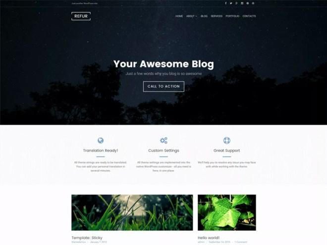 wordpress recipe blog themes