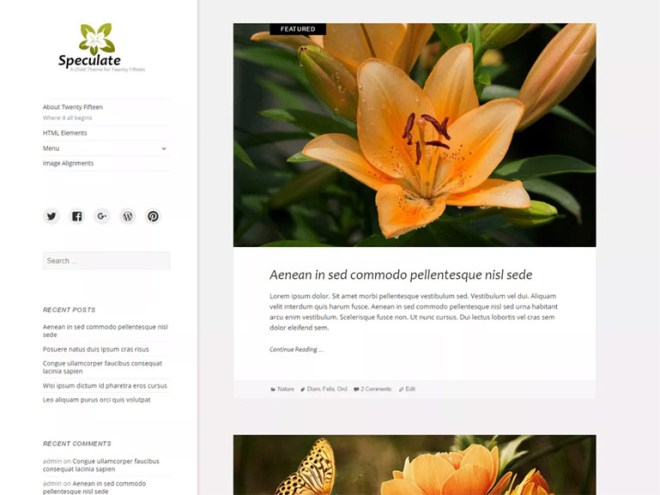 best free wordpress themes for a blog