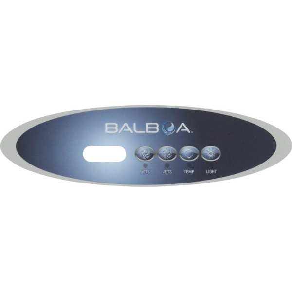 11725 Balboa 4 Button Overlay VL260