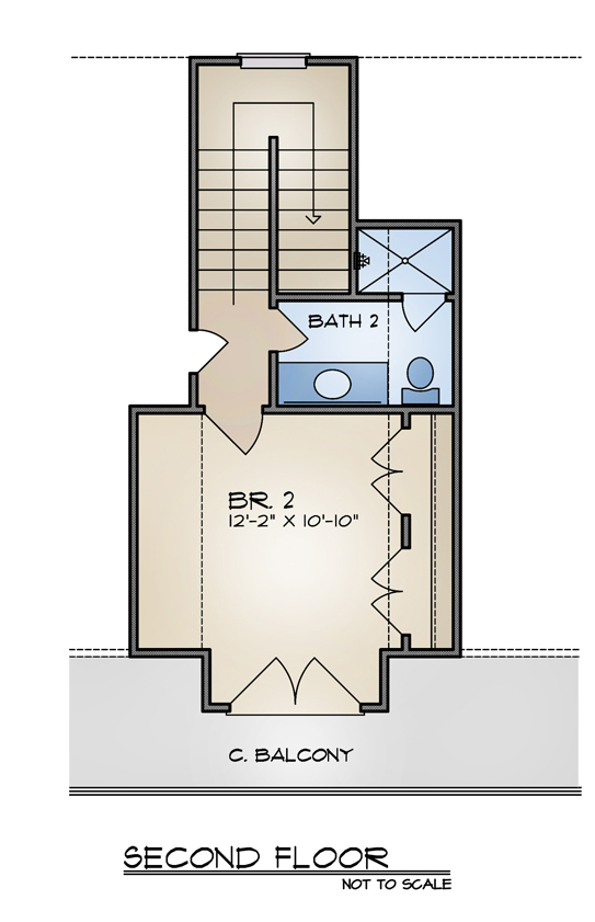 GILLS FP 2 - 33+ Small House Plans With Second Floor Balcony  Pics