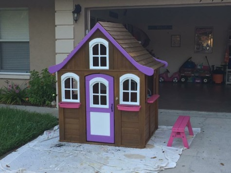 Kids Playhouse Makeover, After