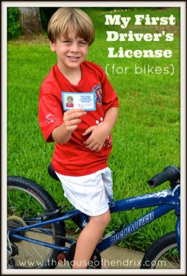 My First Driver's License