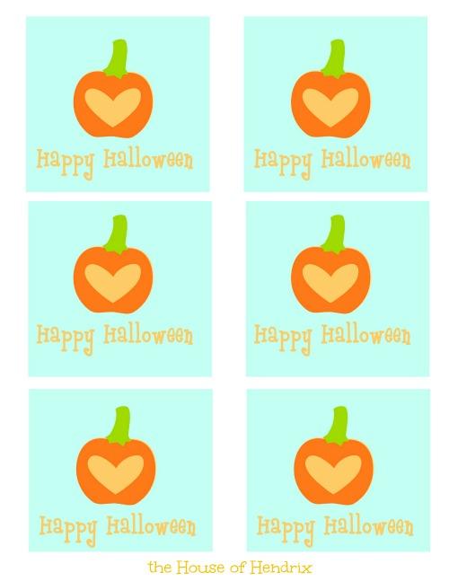 pale blue Halloween printables