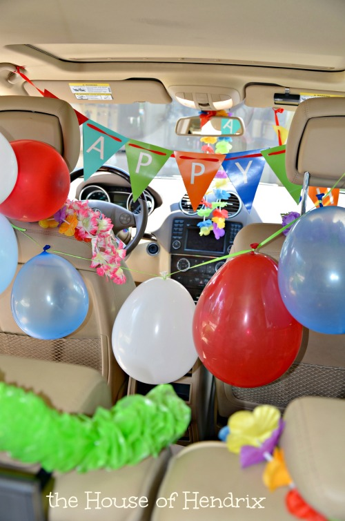 Imagine Getting Into Your Car On Birthday And Its Fully Decorated Pure Delight