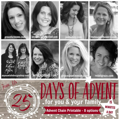 25 days of Advent from 8 bloggers #theHopeChain