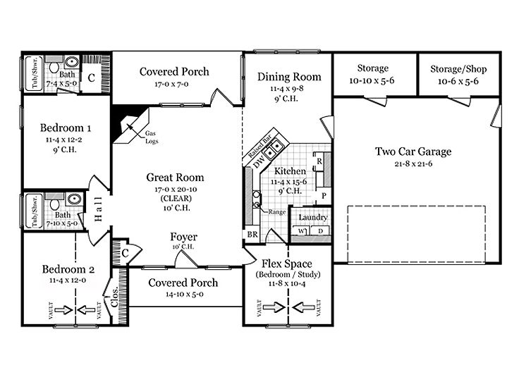 Plans 15 Story Affordable Home