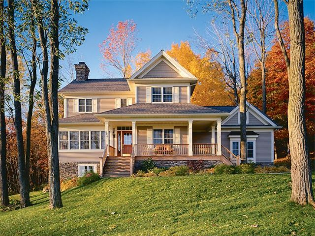 Country House Plans   The House Plan Shop About Country Home Plans