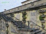 A stairway in the walled garden