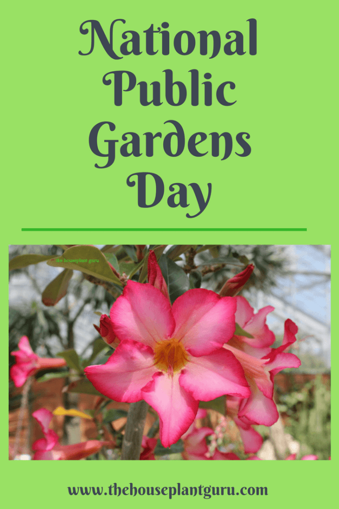National Public Gardens Day