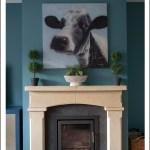 Diy Stone Slate Fireplace