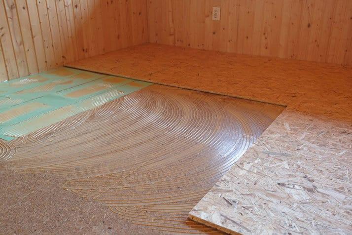 Vapor Barrier Or Raised Floor Tiles