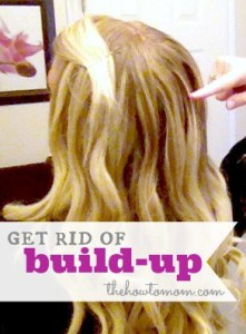 How to Get Rid of Build-up in Hair – using items from your pantry!