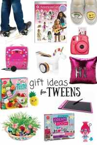 Gift Ideas for Tween Girls