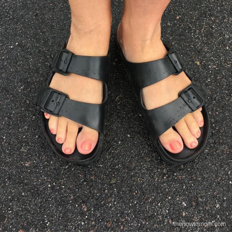 Trendy and Cushy Summer Sandals