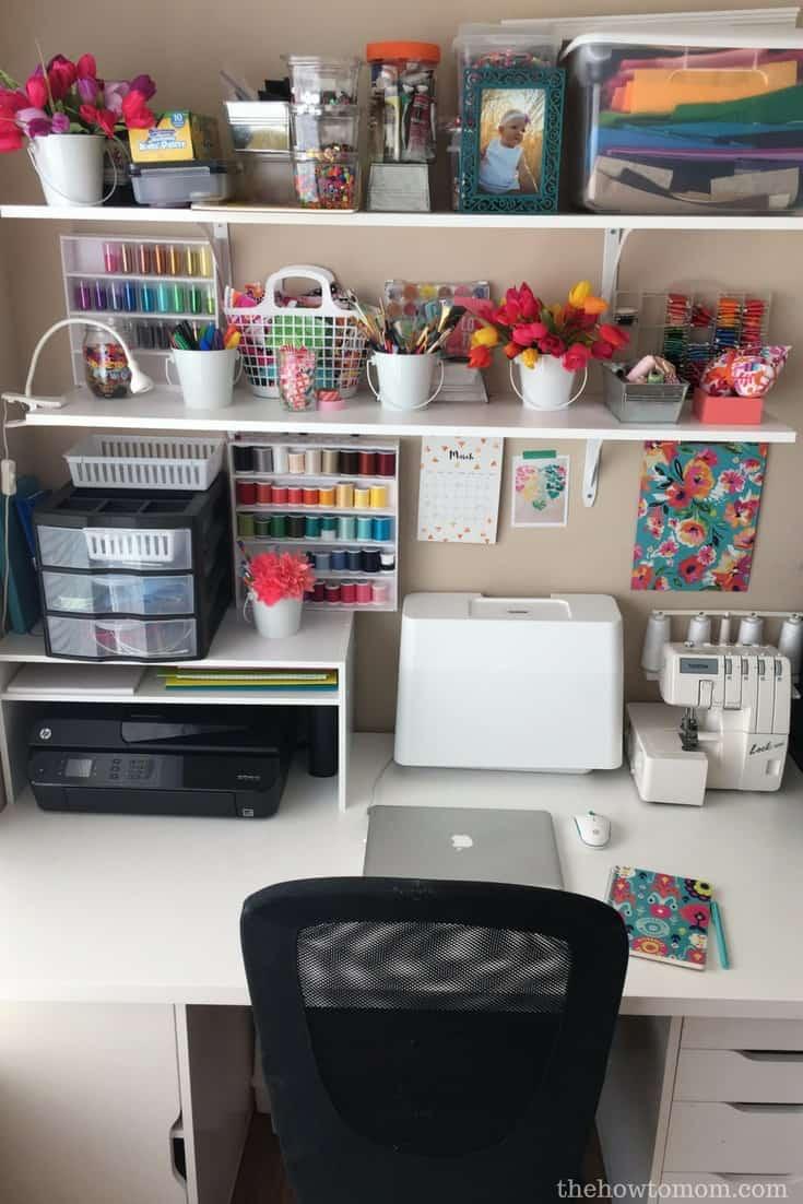 Desktop Organizer DIY