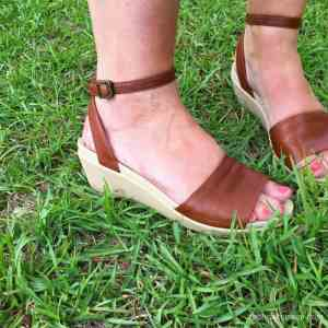 Squishy Summer Sandals – no more flat flip flops!