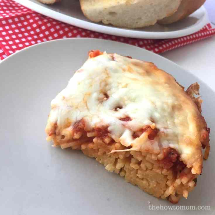 Baked Spaghetti - Easy and Cheap Family Dinner