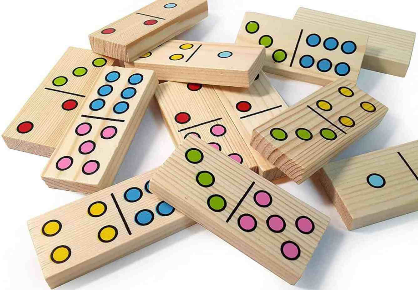 Dominoes - fun ways to practice math at home