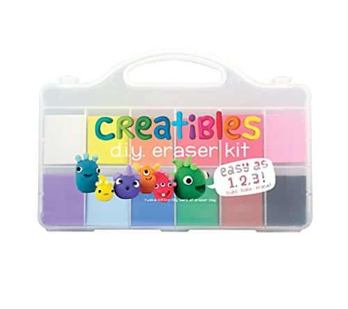 Gift Ideas for Crafty Girls - DIY Eraser Kit